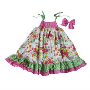 Eleanor Rose Vintage Floral Catarina Dress.  6/7